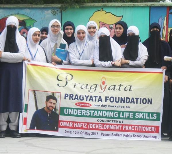 Life Skills workshop in Kashmir