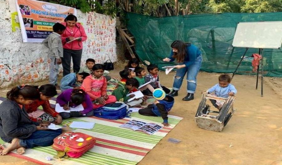 Started Nishulk Kaksha at slums