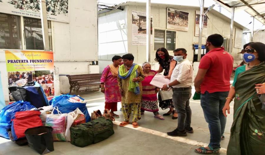 Clothes donation drive