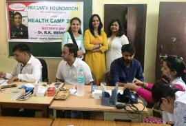 Health camp 2018 on Mother's Day