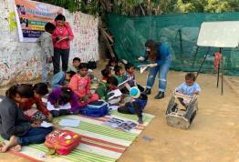 Started Nishulk Kaksha at slum Area