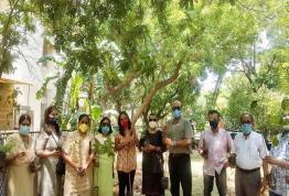 Inauguration of Herbal park